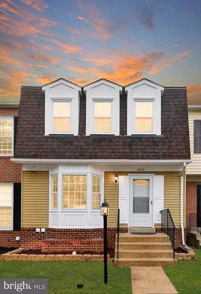 4503 Canary Court, Woodbridge, VA 22193 - #: VAPW484554