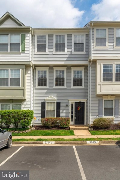 3643 Crosswater Court, Woodbridge, VA 22192 - MLS#: VAPW491542