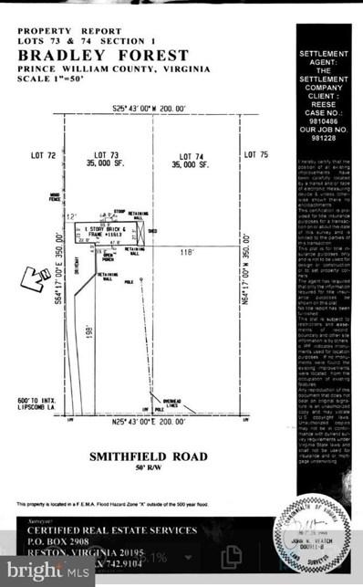 11613 Smithfield Road, Manassas, VA 20112 - #: VAPW499718