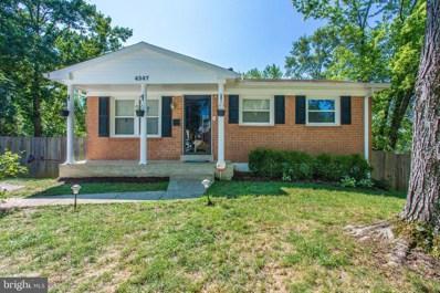 4547 Kendall Drive, Woodbridge, VA 22193 - #: VAPW500418