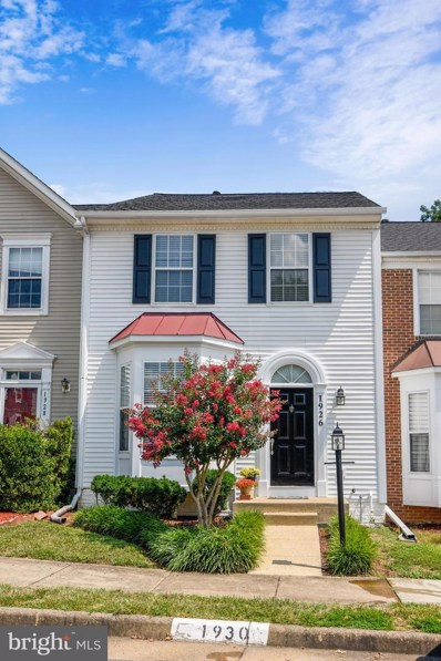 1926 Wicklow Court, Woodbridge, VA 22191 - MLS#: VAPW500948