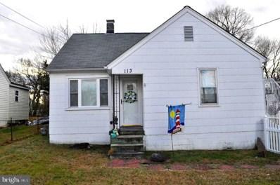 113 Hill Street, Fredericksburg, VA 22408 - #: VASP218464