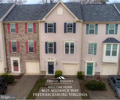 4625 Alliance Way, Fredericksburg, VA 22408 - #: VASP220046