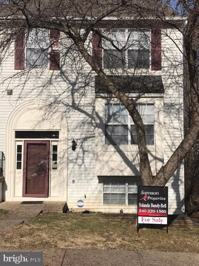 600 Backridge Court, Fredericksburg, VA 22406 - #: VAST187118