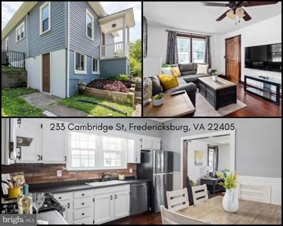 233 Cambridge Street, Fredericksburg, VA 22405 - #: VAST2000806