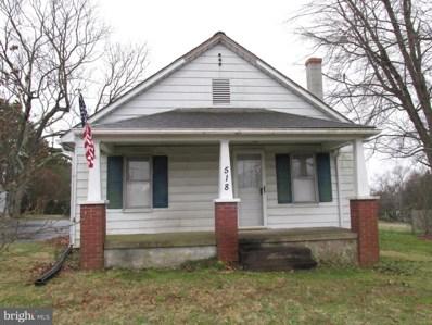 518 White Oak Road, Fredericksburg, VA 22405 - #: VAST218552