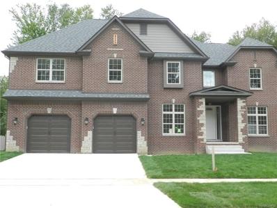 2670 Brooke View Lane, Troy, MI 48085 - MLS#: 21238121
