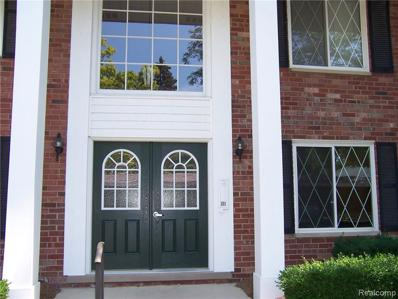 2375 Mulberry Square St UNIT 9 66, Bloomfield Hills, MI 48302 - MLS#: 21318931
