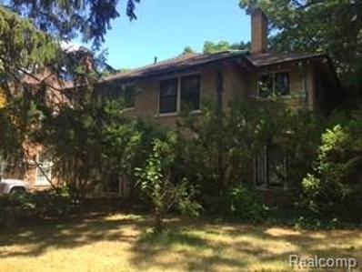 18974 Fairfield, Detroit, MI 48221 - MLS#: 21320559
