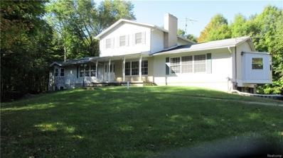 3648 Pine Creek Rd, Metamora, MI 48455 - MLS#: 21378178
