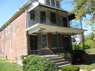 4421 Townsend St, Detroit, MI 48214 - MLS#: 21379739
