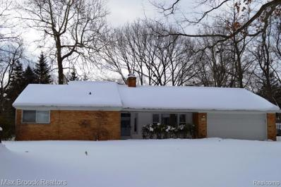 283 Eileen Dr, Bloomfield Hills, MI 48302 - MLS#: 21405589