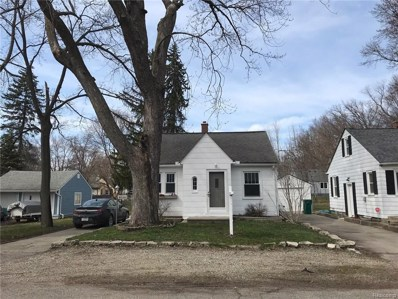 4020 Lomley Ave Ave, Waterford, MI 48329 - MLS#: 21411513