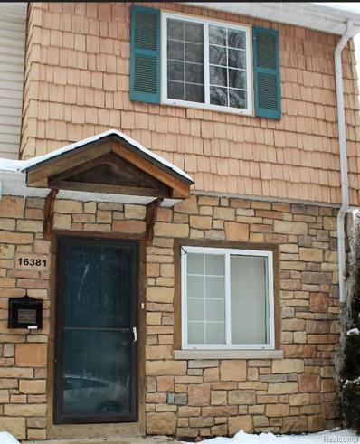 16381 Terrace Village, Taylor, MI 48180 - MLS#: 21413677