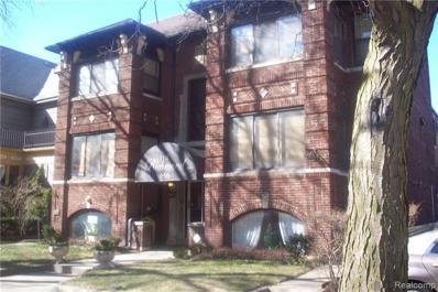 656 Lothrop Rd, Detroit, MI 48202 - MLS#: 21417815