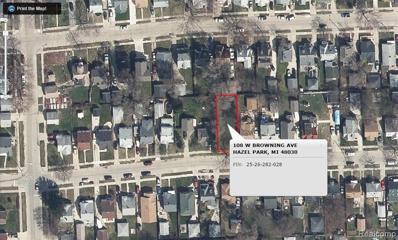 108 W Browning Ave, Hazel Park, MI 48030 - MLS#: 21424491