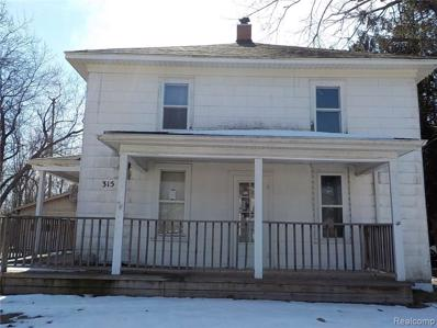 315 W 2ND St, Davison, MI 48423 - MLS#: 21427474