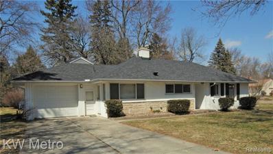 2332 Rutherford Rd, Bloomfield Hills, MI 48302 - MLS#: 21432672