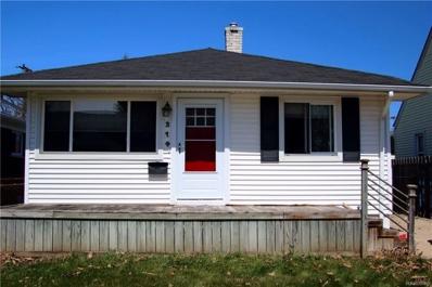 314 Highland St, Wyandotte, MI 48192 - MLS#: 21438639