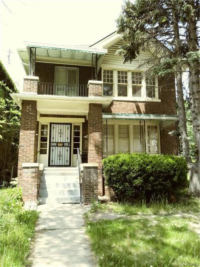 2302 Gladstone St, Detroit, MI 48206 - MLS#: 21440130