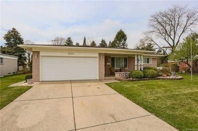 3429 Kevin Cir, Warren, MI 48092 - MLS#: 21442848