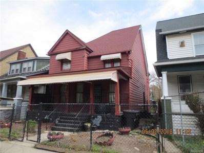 3752 Burns St, Detroit, MI 48214 - MLS#: 21445801