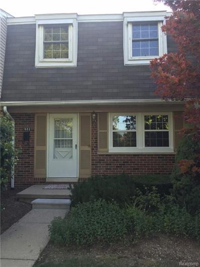 1692 Brentwood, Troy, MI 48098 - MLS#: 21446420