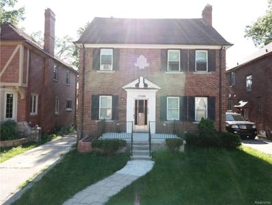 17599 Prairie St, Detroit, MI 48221 - MLS#: 21449458