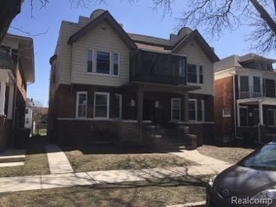 865 Blaine St, Detroit, MI 48202 - MLS#: 21449830
