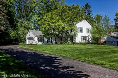 4370 Covered Bridge Rd, Bloomfield Hills, MI 48302 - MLS#: 21452030