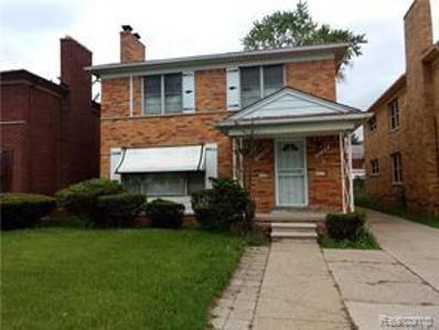 Hubbell St, Detroit, MI 48235 - MLS#: 21469422