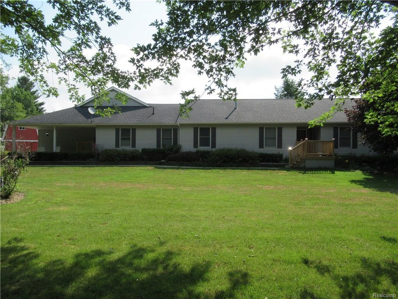 2625 S Lake Pleasant Rd, Metamora, MI 48455 - MLS#: 21479630