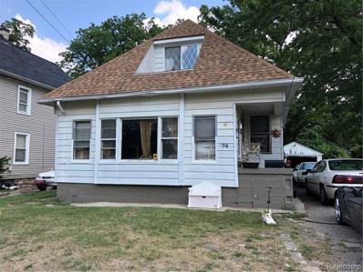74 Thorpe St, Pontiac, MI 48341 - MLS#: 21480484