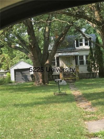 5225 University Plc E, Detroit, MI 48224 - MLS#: 21491605