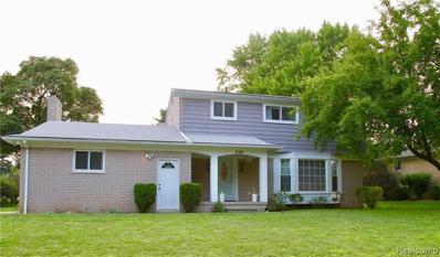 898 Lynndale Dr, Rochester Hills, MI 48309 - MLS#: 21493656