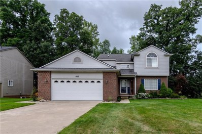 407 Cove View Dr, Waterford, MI 48327 - MLS#: 21495379
