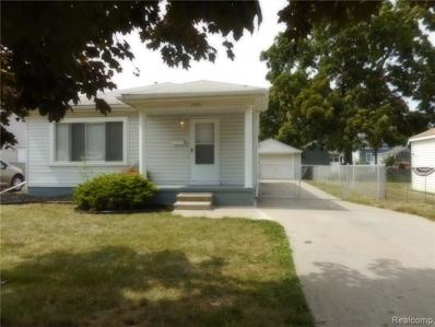 1404 Applewood Ave, Lincoln Park, MI 48146 - MLS#: 21496908