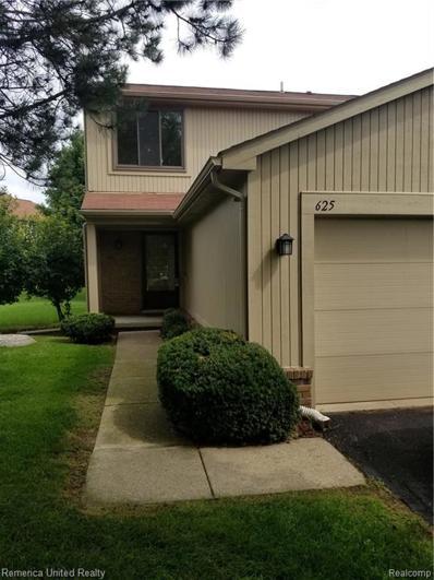 625 Byron, Rochester Hills, MI 48307 - MLS#: 21497379