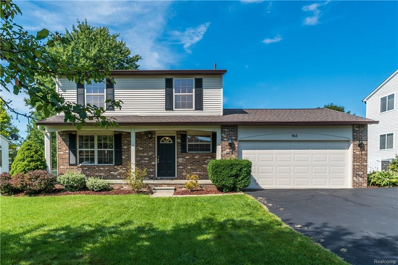 165 Eagle Crest Dr, South Lyon, MI 48178 - MLS#: 21500681