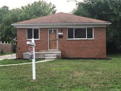 6751 Centralia St, Dearborn Heights, MI 48127 - MLS#: 21501617