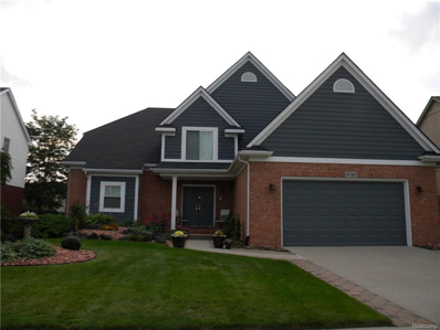 47397 Woodberry Estates Dr, Macomb, MI 48044 - MLS#: 21504241