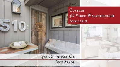 510 Glendale Cir, Ann Arbor, MI 48103 - MLS#: 21504758