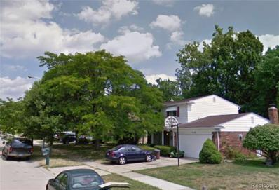6182 Willow Creek Dr, Canton, MI 48187 - MLS#: 21511822