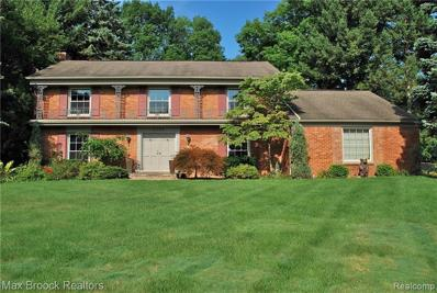 4284 Covered Bridge Rd, Bloomfield Hills, MI 48302 - MLS#: 21515142
