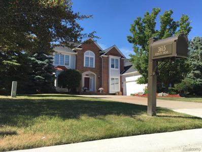 3615 Aynsley Dr, Rochester Hills, MI 48306 - MLS#: 21518783