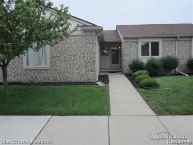 45661 Plum Tree Ln, Shelby Twp, MI 48315 - MLS#: 21519763