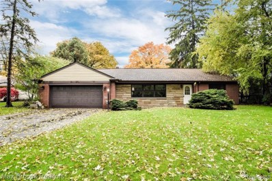 237 Marlborough Dr, Bloomfield Hills, MI 48302 - MLS#: 21524531