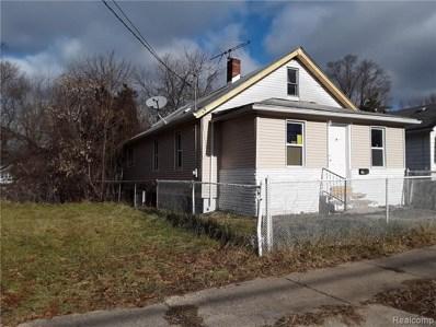 50 Gillespie Ave, Pontiac, MI 48341 - MLS#: 21529281