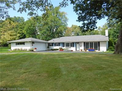 212 W Hickory Grove Rd, Bloomfield Hills, MI 48302 - MLS#: 21535851