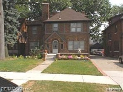 18082 Wildemere St, Detroit, MI 48221 - MLS#: 21656878